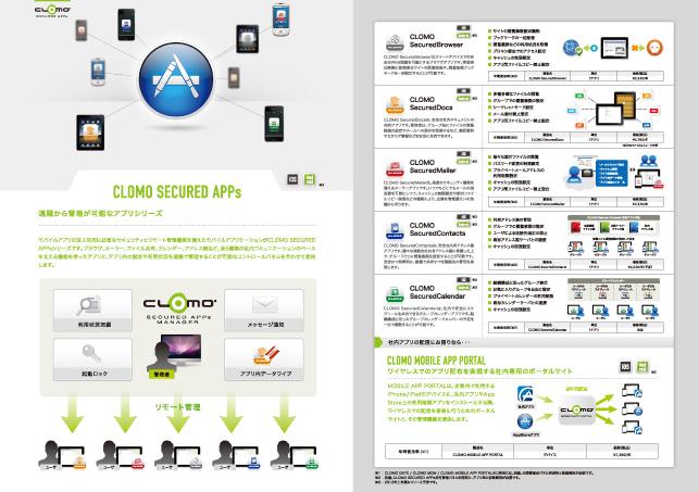 IT関連企業・クラウドサービスパンフレットデザイン実績4p