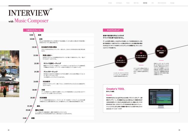 採用案内パンフレットデザイン制作実績/ゲーム・エンターテイメント関連・ゲーム制作会社