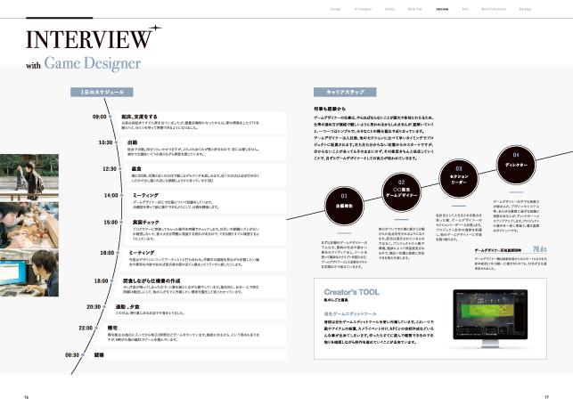 採用パンフレットデザイン制作実績・会社案内/ゲーム・エンターテイメント・エンタメコンテンツ関連