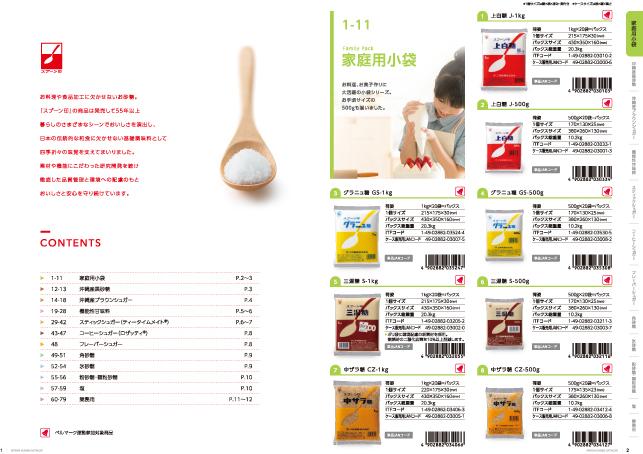 カタログデザイン2P実績/商社・メーカー