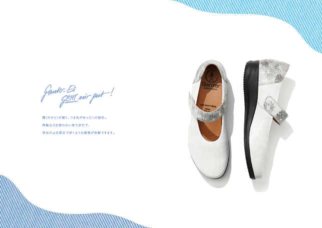 商品カタログデザイン実績2016ss/メーカー・製靴2p