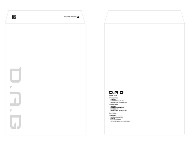 映像制作・ゲーム開発関連・封筒デザイン制作実績