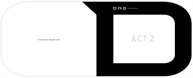 映像制作・ゲーム開発関連・クリエイティブ関連企業会社案内デザイン制作実績1p