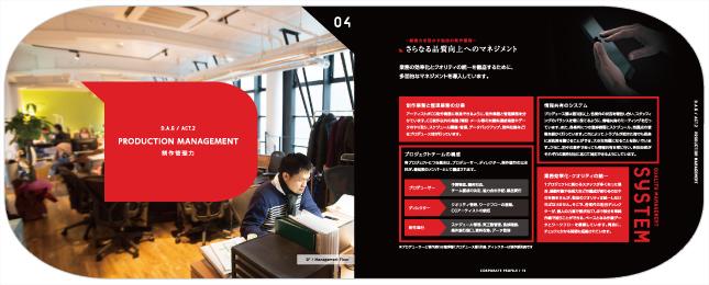 CG制作・CGデザイン開発関連・クリエイティブ関連企業会社案内デザイン制作実績7p