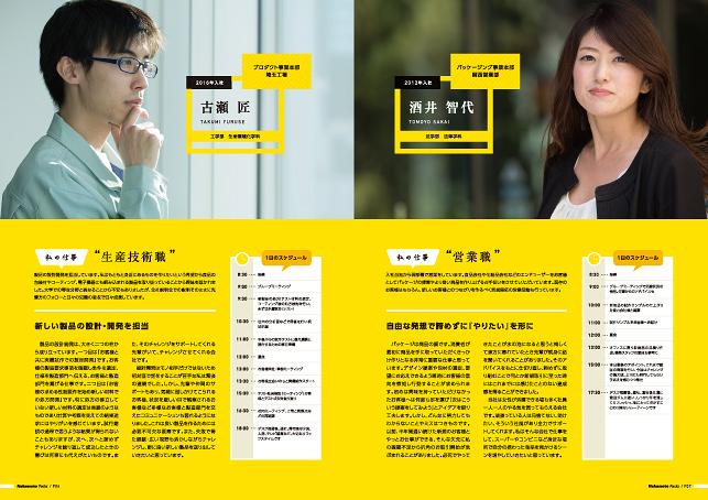 採用ツール・会社案内デザイン実績/印刷会社・製造業・パッケージ製作関連