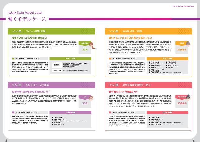 アロマテラピスト養成・生徒募集・スクールパンフレット制作実績/アロマテラピー・アロマテラピスト・アロマインストラクタースクール学校関連