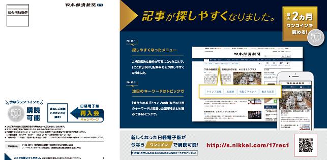 新聞社・キャンペーンDM・告知DM・出版社・ダイレクトメールのデザイン制作実績