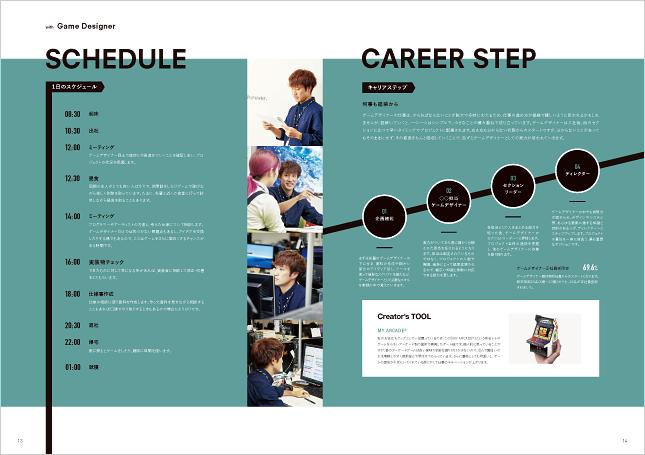ゲームメーカー・ゲームプロダクション・製作会社採用パンフレット・採用会社案内制作実績
