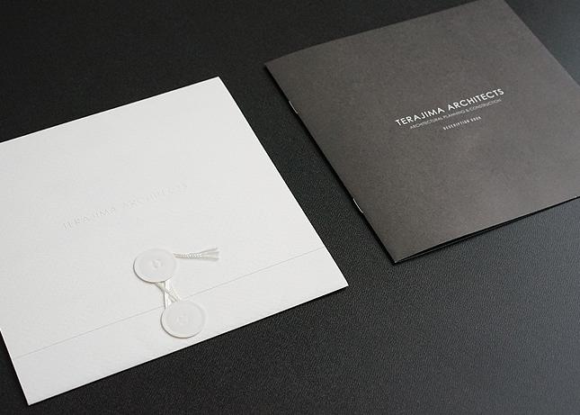 建築・建設住宅デザイン関連デザイン事務所パンフレットデザイン表示・封筒写真